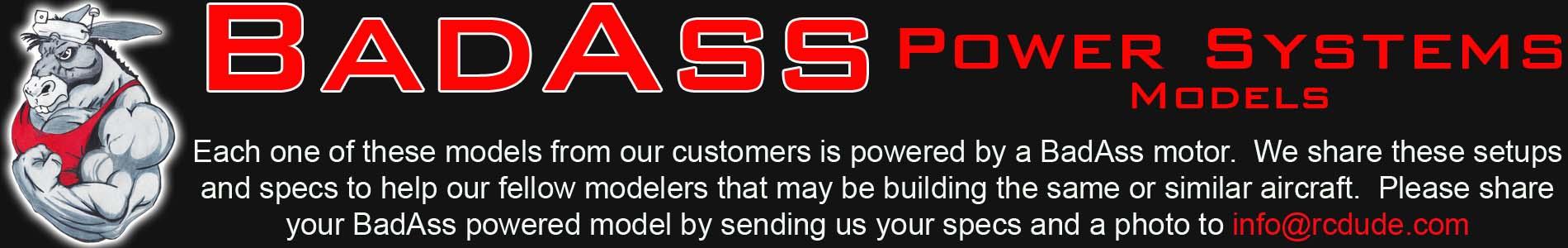 BadAss Powered Models Webpage