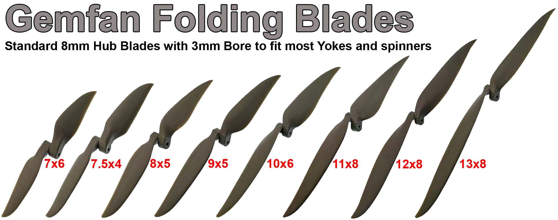 Gemfan Folding Blades