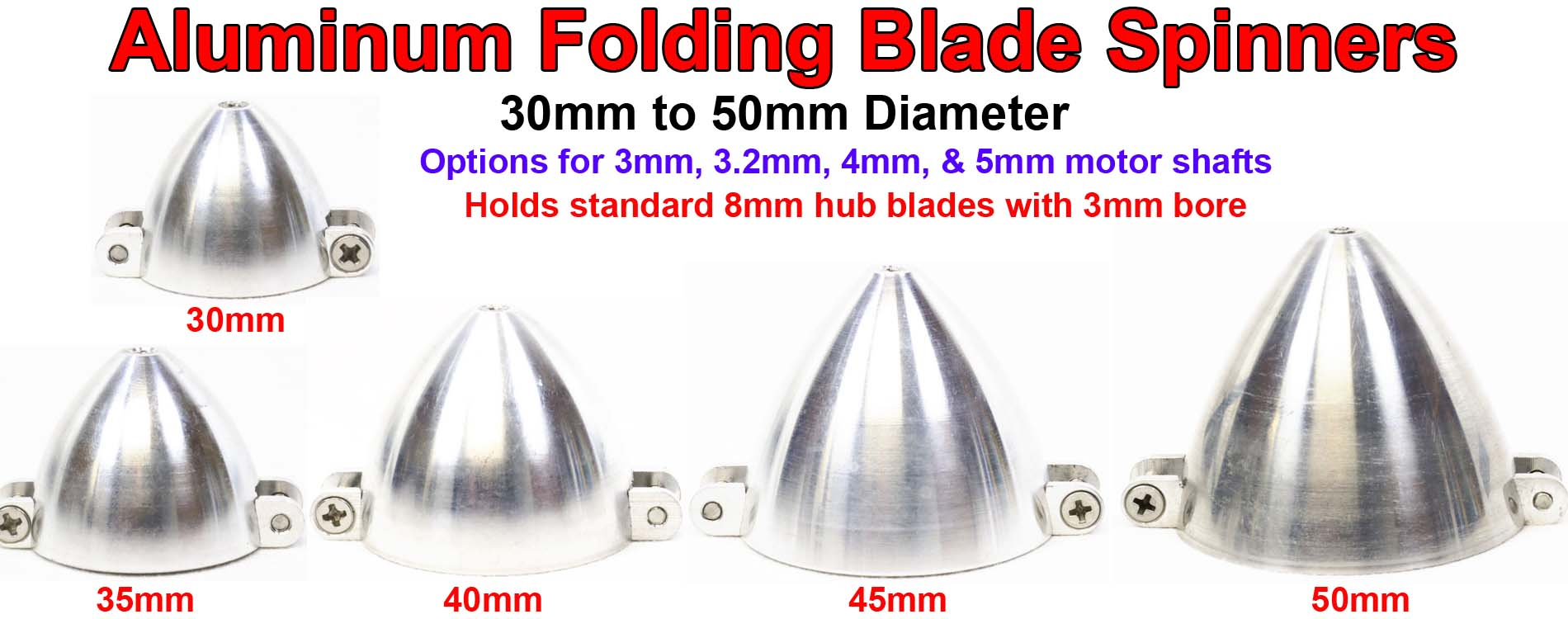 Folding Spinners