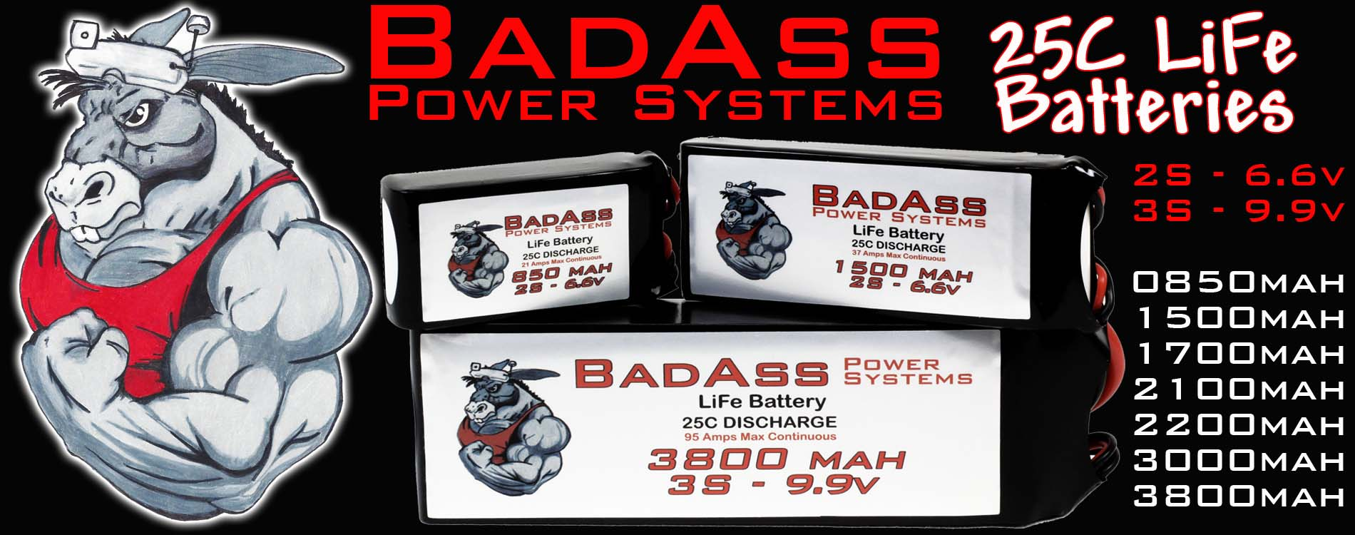 BadAss Life Batteries