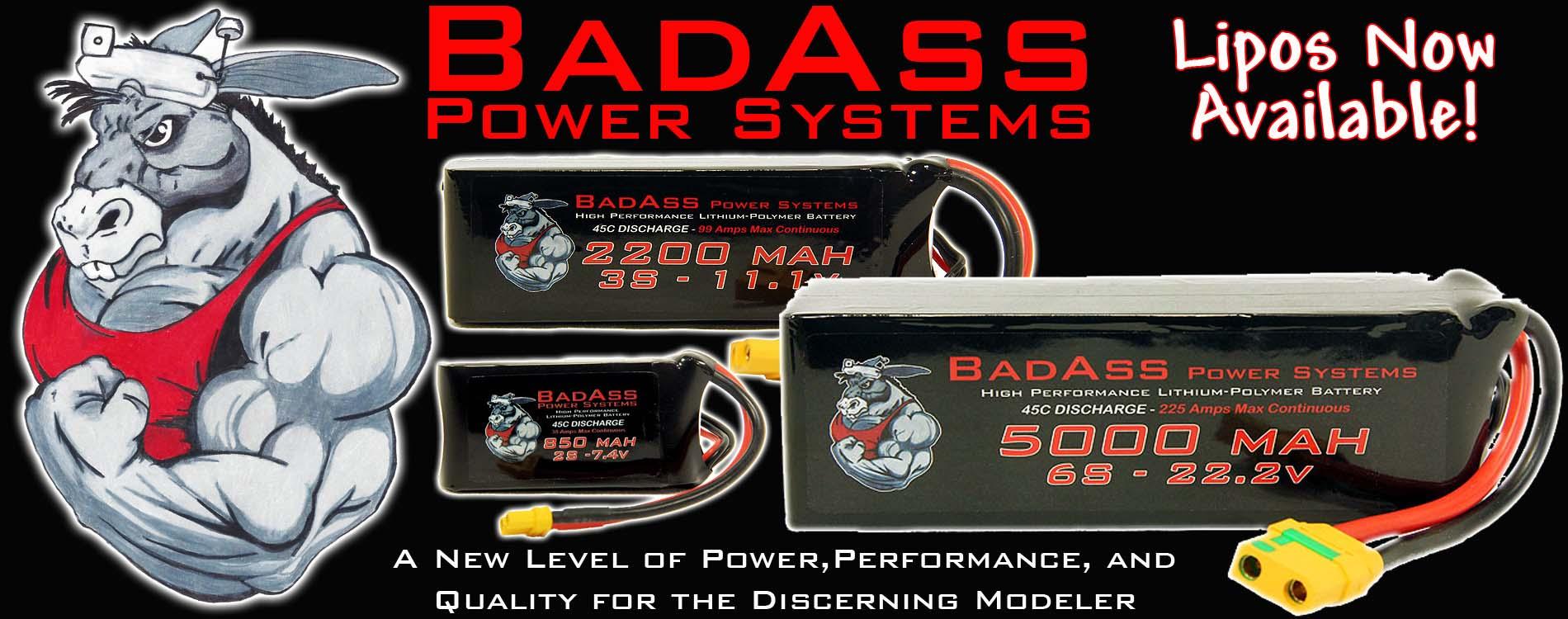 BadAss Lipo Batteries