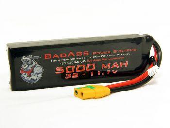 BadAss 45C 5000mah 3S LiPo Battery