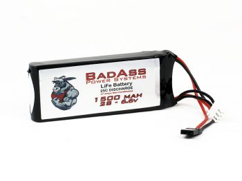 BadAss 25C 1500mah 2S LiFe Battery