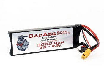 BadAss 25C 3000mah 3S LiFe Battery