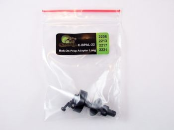 Cobra Parts - Bolt-On Prop Adapter - 22mm Extra Long 4-Hole