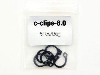 Cobra C-Clip Kit 8.0mm