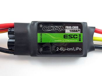 Cobra 150A ESC with 6A Switching BEC