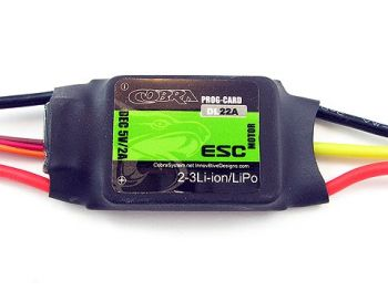 Cobra  22A ESC with 2A Linear BEC