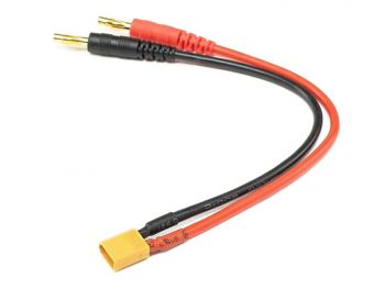Charge Harness Cable, 4mm Banana to XT30 Male