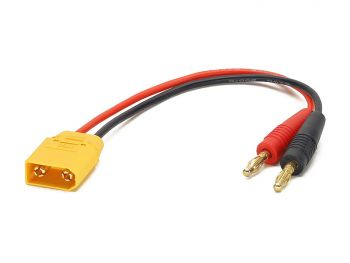 Charge Harness Cable, 4mm Banana to XT90 Male