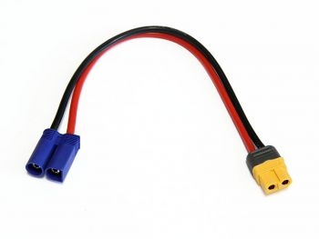 Charge Harness Cable, XT60 Female to EC5 Male