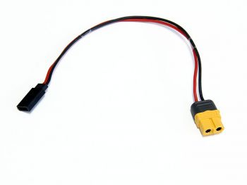 Charge Harness Cable, XT60 Female to Futaba Rx