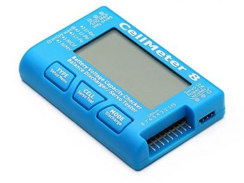 CellMeter-8 Battery and Servo Tester