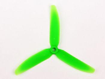 GemFan  5x3 3-Blade Reverse Rotation -  Green