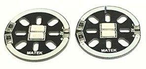 Hyperion Circular LED Motor Mount Plate - 5v Green