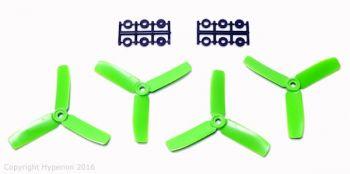 Hyperion 4x4 3-Blade Bullnose Prop Set 2CW 2CCW - Green