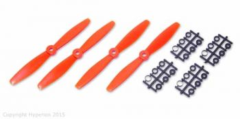 Hyperion 6x4 Bullnose Prop Set 2CW 2CCW - Orange