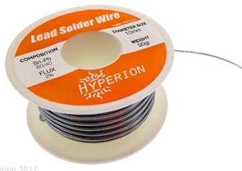 Hyperion 60/40 Rosin Core Solder
