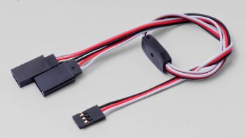 Hyperion Light Servo Y-Harness - Futaba 300mm Light