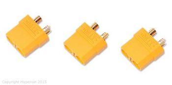Hyperion XT90 Female Connectors - 3pcs