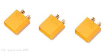 Hyperion XT90 Male Connectors - 3pcs