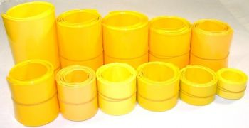 Heat Shrink Yellow - 4.50-in