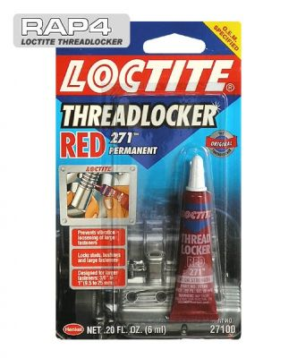 Loctite Threadlocker - 271 Red 6ml
