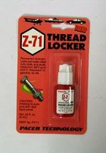ZAP Threadlocker Z-71 RED - .2oz