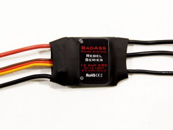 BadAss Rebel Series Brushless ESC, 12A