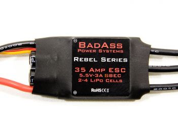 BadAss Rebel Series Brushless ESC, 35A