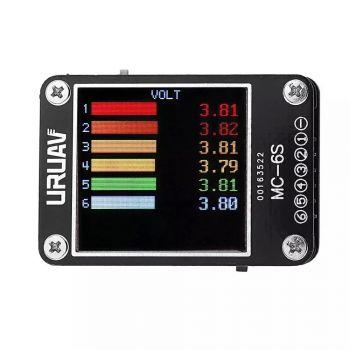 MC-6S 1-6S Lipo Battery Voltage Checker Receiver Signal Tester