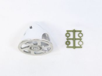 Air-Flow Spinner with Aluminum Backplate, 51mm (2