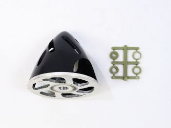 Air-Flow Spinner with Aluminum Backplate, 57mm (2-1/4