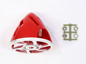 Air-Flow Spinner with Aluminum Backplate, 70mm (2-3/4