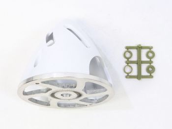 Air-Flow Spinner with Aluminum Backplate, 75mm (3
