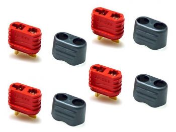 Amass  T-Plug Connector Set - 4 Female