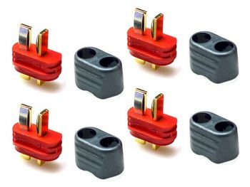 Amass  T-Plug Connector Set - 4 Male
