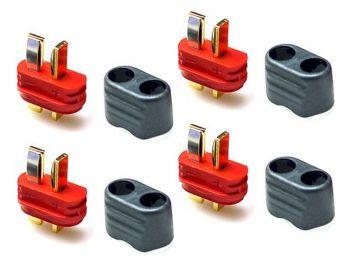 Amass  T-Plug Connector Set - 4 Male