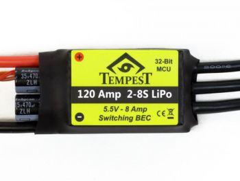 Tempest Brushless ESC, 120A 8S