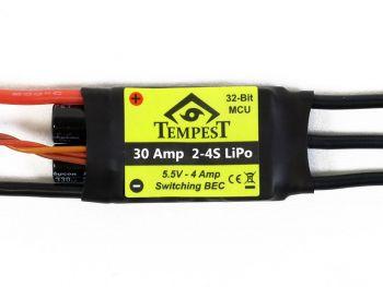 Tempest Brushless ESC, 30A 4S