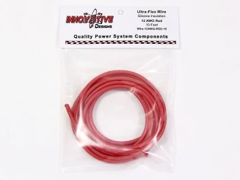 Ultra-Flex Wire - 12awg, Red, 10-feet