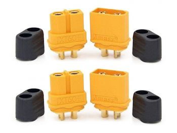 Amass XT60 Connector Set - 2 Male and  2 Female