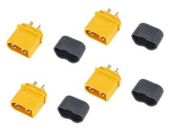 Amass XT60 Connector Set - 4 Male