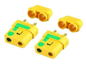 Amass XT90 Connector Set - 2 Female